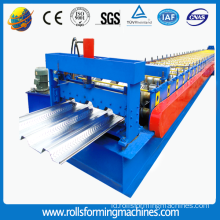 Galvanis Metal Roof Sheet Roll Forming Machine untuk Bahan Bangunan