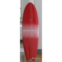 High quality PU short foam fish surfboard