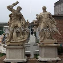 Jardim pedra escultura estátuas de mármore para escultura decoração (SY-X1248)