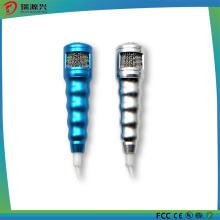 Moda 3.5mm Mini microfone estéreo Mic com fone de ouvido para celular