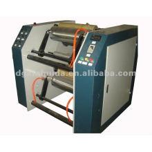 LLDPE semi-auto stretch film slitter rewinder machine