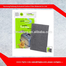 Enclosed Litter Pan Useful and Odour Removal Zeolite Air Filter