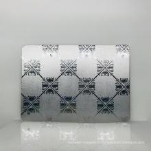 Feuille acrylique de plexiglas de miroir de Pmma de miroir acrylique de haute qualité