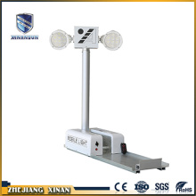 vehicle mounted telescopic folding mast camera light tower