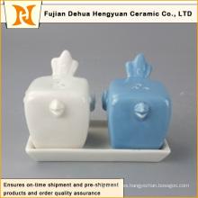 Nueva sal de cerámica del pájaro de la venta caliente del diseño y fábrica de los cocineros de la pimienta China directa