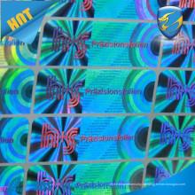 Selbstklebender Hologrammaufkleber / Kundenspezifisches Hologramm / ursprüngliches Hologrammaufkleberaufkleber