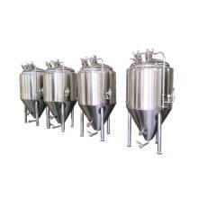 Stainless steel conical fermenter 1bbl fermenter 1bbl jacketed fermenter