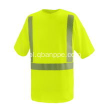 logo custom yellow shirt high visibility