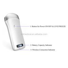 Ultrasound Machine Mini Ultrasound Scanner Dew Dual screen color doppler wifi linear iphone wireless ultrasound probe scanner
