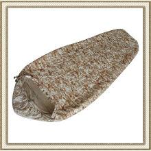 Camuflagem saco de dormir de nylon para acampar (CL2A-BE01)
