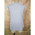 Рубашка мода Бамбук хлопок V шеи изготовленный на заказ Оптовая девушки Т