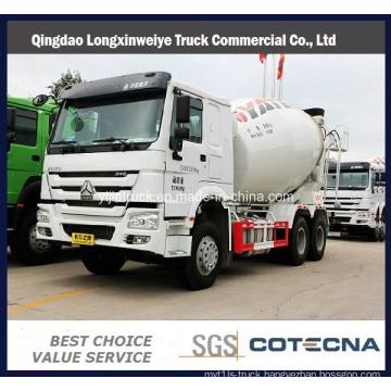 Sinotruk HOWO 5-10m3 Heavy Duty Concrete Mixer Truck