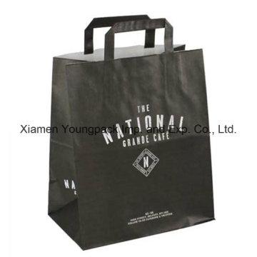 Bolsa de papel Kraft para llevar