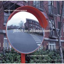 espejo convexo al aire libre grande plástico de alta calidad usado para la seguridad del tráfico