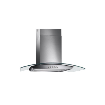 Hindi kinakalawang na asero Sinulid na Glass Kitchen Range Hood