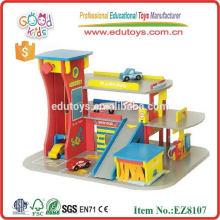 2014 new wooden garage toy for kids,popular garage toy ,hot sale wooden garage toy
