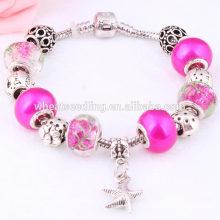 Starfish teen girls alibaba nomination bracelets breloques en gros