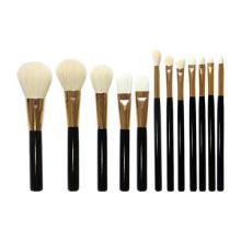 Синтетические и натуральные волосы 12PCS OEM Accepted Makeup Brush Set