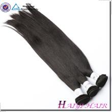 El pelo indio 8A 9A cutícula alineó la orden de la muestra de la trama de la máquina acepte ningún enredo