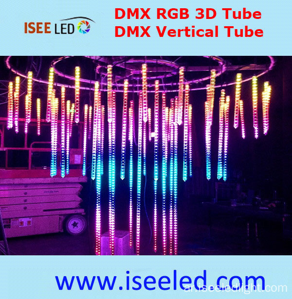 DMX 3D Crystal LED Tube