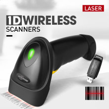200 Scans / Sek. USB-Schnittstelle 1D Wireless Barcode Scanner