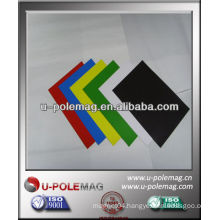 Flexible Magnetic sheet with adhesive or PVC