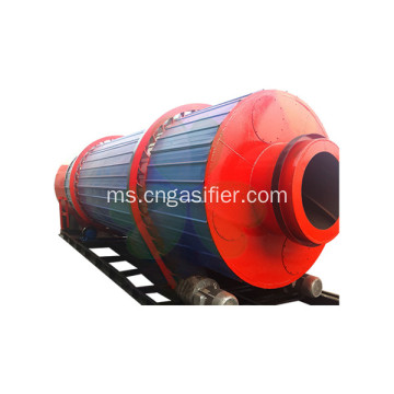 Tiga Pengering Cilinder Rotary Drum River Dryer Sand