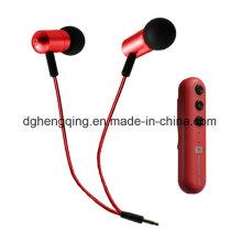 Bluetooth 4.1 Versão fone de ouvido com microfone e controle remoto, fone de ouvido Bluetooth