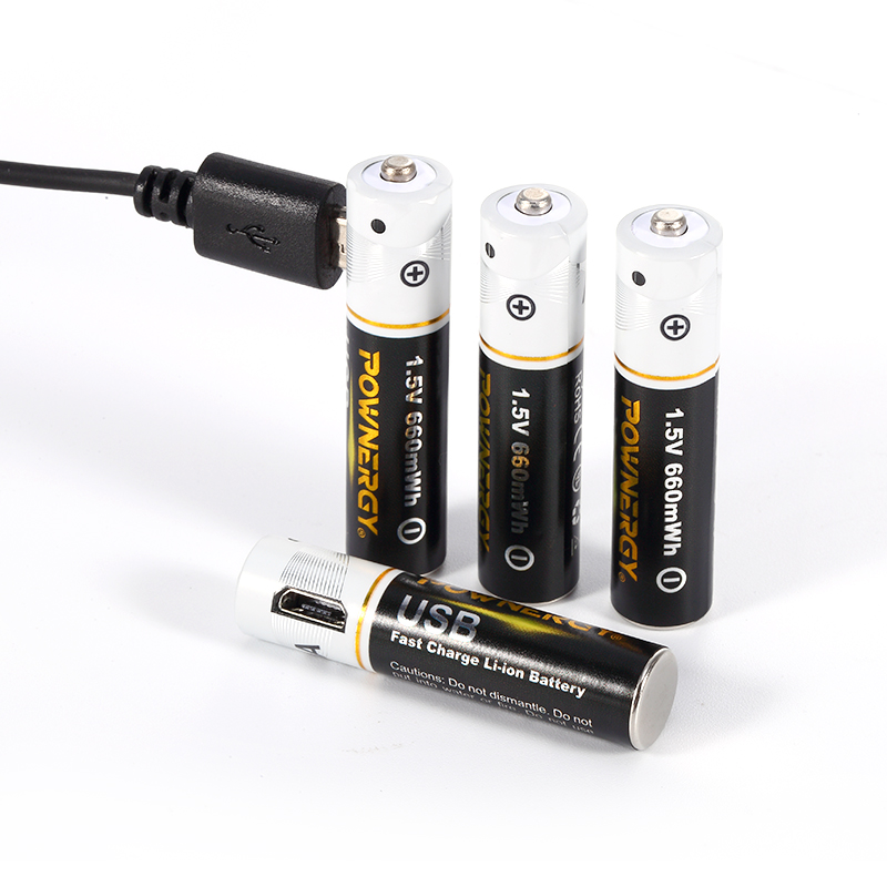 aaa battery usb charger