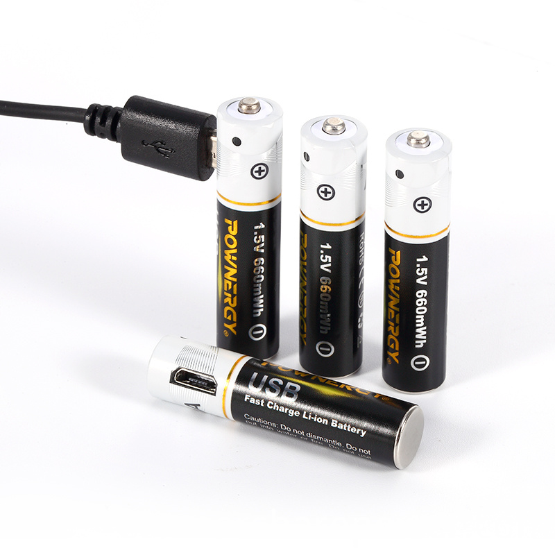 rechargeable aaa batteries usb charger