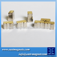 Strong exquisite neodymium micro magnet/irregular ndfeb magnet for sale