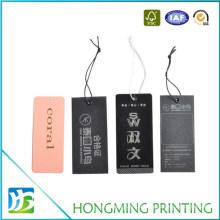 Custom Printing Recycled Paper Clothing Hang Tag