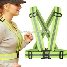 personalizado barato 3 m azul tecido de malha reflexivo colete de segurança