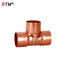 J17 4 7 1 accesorios de cobre wrot accesorios de tubería de 3 vías