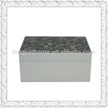 Paua Shell Decorative Storage Boxes in Medium size