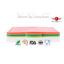Placa de corte dobrável de silicone