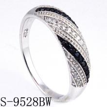 Nuevo anillo de la joyería de plata de los modelos 925 (S-9528BW. JPG)