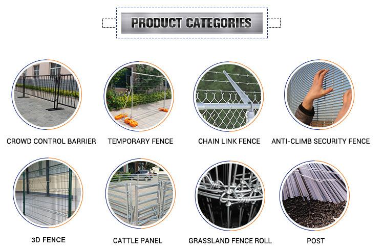 Beautiful Design Decorative Wrought Iron Fence / Gates
