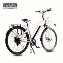 Elektrisches Fahrrad City E Bike mit BAFANG Mid Drive Motor
