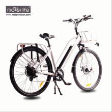 2017 BAFANG mid drive ville vélo électrique fabriqué en Chine / meilleure qualité 36V250W ebike, grandes batteries de puissance vélos électriques à vendre