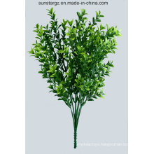 PE MID Boxwood Artificial Plant for Home Decoration (48429)
