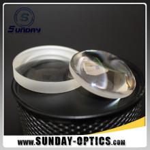 Lentille convexe de Plano de longueur focale du diamètre 50mm de 25.4mm avec le revêtement AR évident