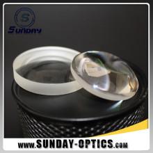 Lente convexa de Plano do comprimento focal do diâmetro 50mm de 25.4mm com o revestimento visível do AR
