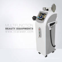 Máquina portátil da remoção do cabelo do laser do IPL + RF + E-light + nd yag & da remoção da tatuagem