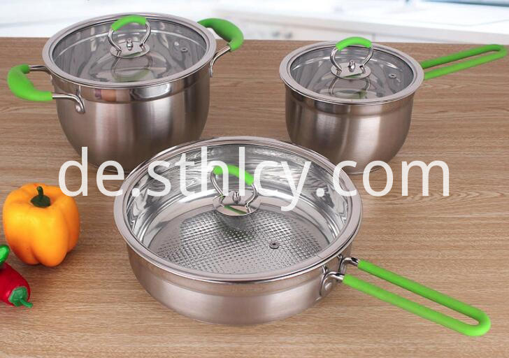 Cookware Set Green