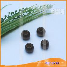 Мода деревянного конца шнура или шарик для одежды KE1071 #