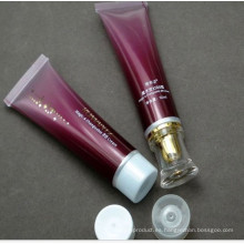 Tubos para los cosméticos, con tapón, con cajas de papel