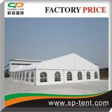 Neueste Design White 18m Big Curve Marquee Dome Zelt mit Aluminium Rahmen für Veranstaltungen