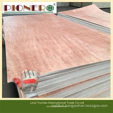 Poplar Core Marine/Commercial Plywood with Bintangor Face