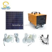 Sistema de panel solar de alta potencia de 1000 vatios con carga telefónica